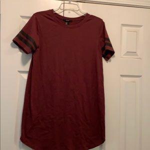 Jersey style t shirt dress